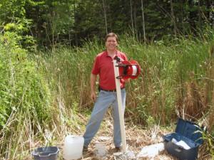 ground water sampling