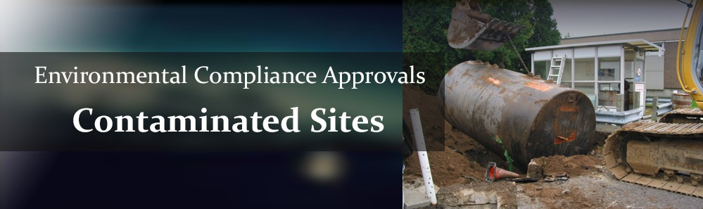 certificate of approval - contaminated sites slide