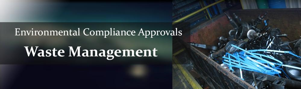 certificate of approval - waste slide